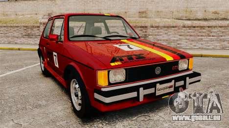 Volkswagen Rabbit GTI 1984 für GTA 4