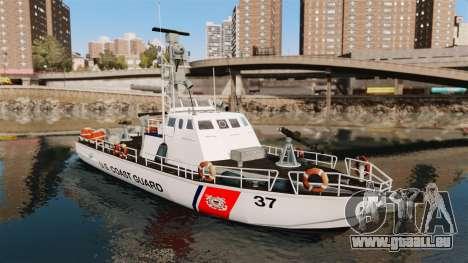 Канонерская bateau U.S. Coastguard pour GTA 4