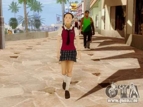 Hanako pour GTA San Andreas neuvième écran