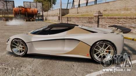 GTA V Grotti Turismo R für GTA 4 linke Ansicht