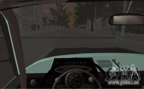 Moskwitsch 412 Rallye für GTA San Andreas rechten Ansicht