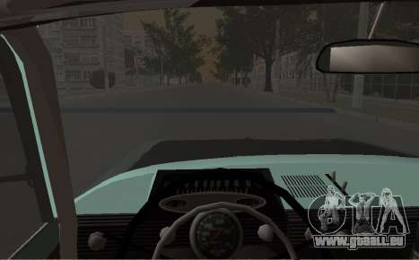 Moskvitch 412 Rallye pour GTA San Andreas vue de droite