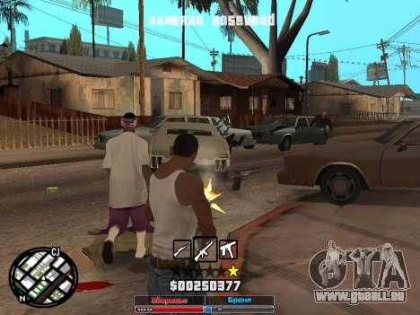 Cleo Hud Cameron Rosewood für GTA San Andreas dritten Screenshot