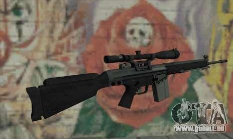 Fusil de sniper de L4D pour GTA San Andreas deuxième écran