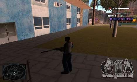 C-HUD Belenky pour GTA San Andreas