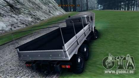 KRAZ 6322 für GTA San Andreas rechten Ansicht