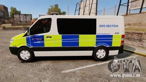 Mercedes-Benz Sprinter 211 CDI Police [ELS] pour GTA 4 est une gauche