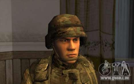 Les soldats de la SA et le Mississippi de la gar pour GTA San Andreas troisième écran