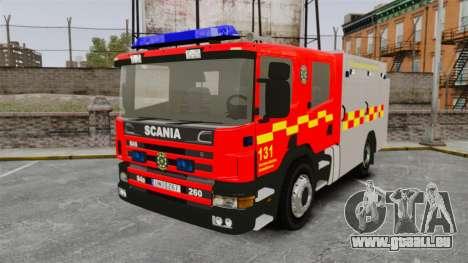 Scania 94D 260 BAS1 Stockholm Fire Brigade [ELS] für GTA 4