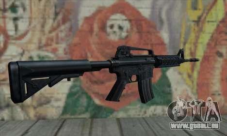 M4 RIS Carbine pour GTA San Andreas deuxième écran