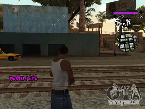 C-HUD Ghetto Life pour GTA San Andreas deuxième écran
