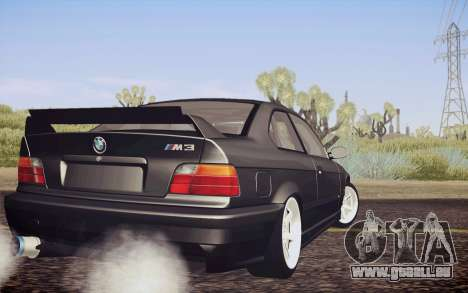 BMW M3 E36 Angle Killer pour GTA San Andreas laissé vue