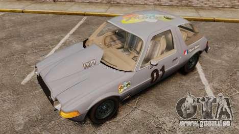 AMC Pacer für GTA 4 Seitenansicht