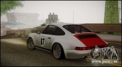 Porsche 911 für GTA San Andreas linke Ansicht