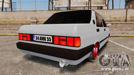 Tofas Sahin pour GTA 4 Vue arrière de la gauche
