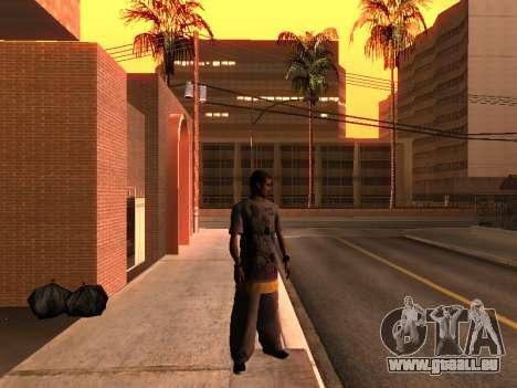 La Peau Traceur pour GTA San Andreas deuxième écran