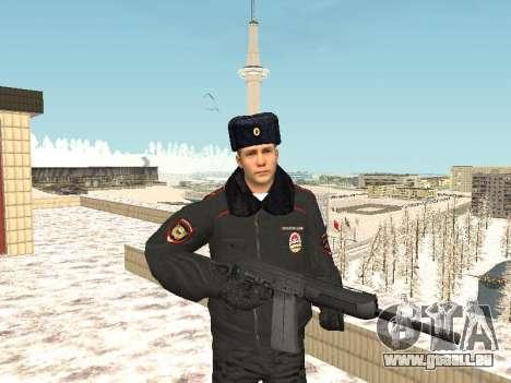 Pack de russe des armes légères pour GTA San Andreas deuxième écran