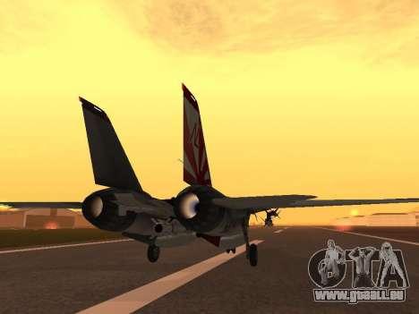 F-14 LQ für GTA San Andreas rechten Ansicht