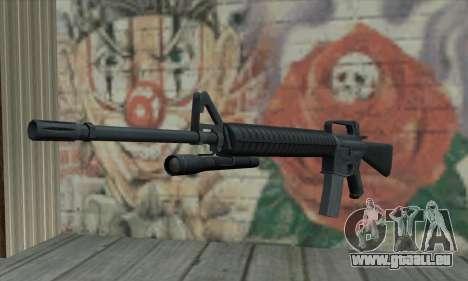 M16 de L4D pour GTA San Andreas