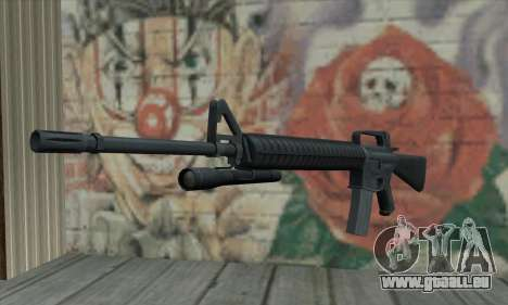 M16 von L4D für GTA San Andreas