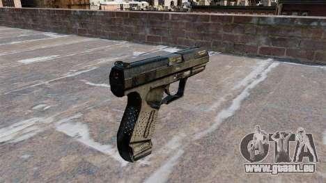 Pistolet semi-automatique Walther P99 pour GTA 4 secondes d'écran