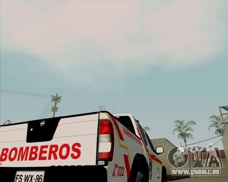 Nissan Terrano pour GTA San Andreas vue de dessus