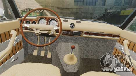 AIDE-2103 Lada pour GTA 4 est une vue de l'intérieur