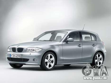 Les écrans de démarrage BMW 120i pour GTA 4 troisième écran