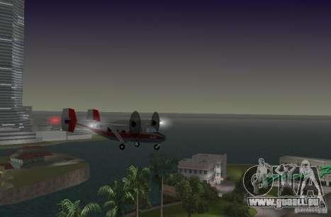 L'an-28 pour GTA Vice City sur la vue arrière gauche