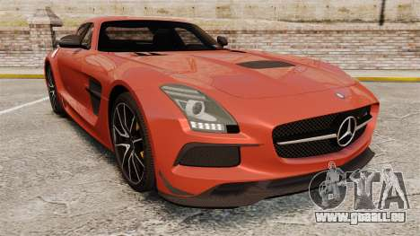 Mercedes-Benz SLS 2014 AMG Black Series für GTA 4