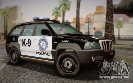 NFS Suv Rhino Light - Police car 2004 für GTA San Andreas