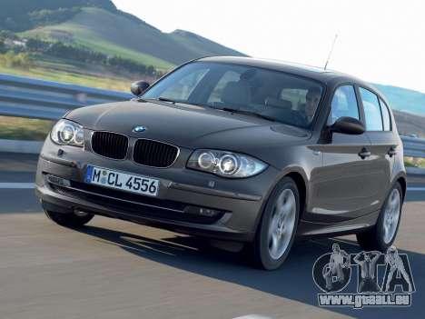 Les écrans de démarrage BMW 116i pour GTA 4 cinquième écran