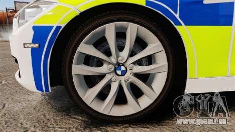 BMW 330d Touring (F31) 2014 Police [ELS] für GTA 4 Rückansicht