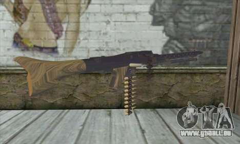 MG42 für GTA San Andreas zweiten Screenshot