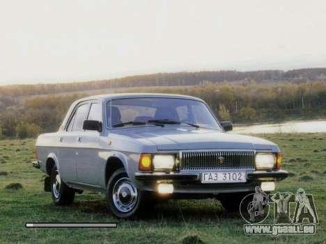 Boot-screens sowjetischen Autos für GTA San Andreas her Screenshot