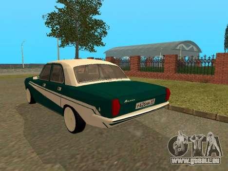 GAZ Wolga 24-10 für GTA San Andreas rechten Ansicht