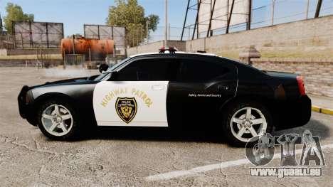 Dodge Charger 2010 LCHP [ELS] pour GTA 4 est une gauche