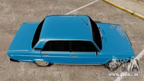 VAZ-2107 für GTA 4 rechte Ansicht