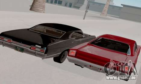 Plymouth Road Runner 383 1969 für GTA San Andreas obere Ansicht
