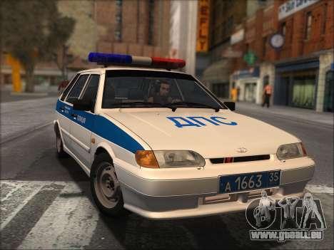 VAZ 2114 Police DPS pour GTA San Andreas