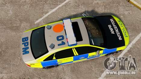 Audi S4 2013 Metropolitan Police [ELS] für GTA 4 rechte Ansicht