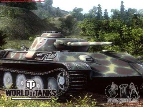 Boot-screen World of Tanks für GTA San Andreas her Screenshot