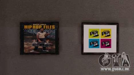 Neue Plakate in der Wohnung Playboy für GTA 4 fünften Screenshot