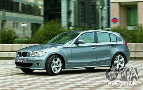 Les écrans de démarrage BMW 120i pour GTA 4 septième écran