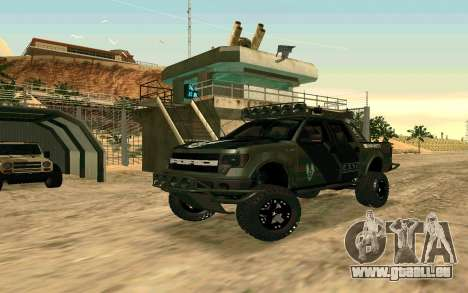 Ford F150 Raptor Unique Edition pour GTA San Andreas