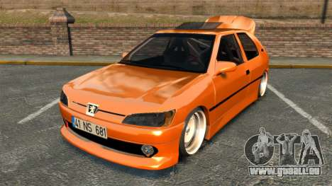 Peugeot 306 [RC] Unal Turan für GTA 4