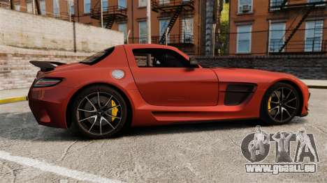 Mercedes-Benz SLS 2014 AMG Black Series für GTA 4 linke Ansicht