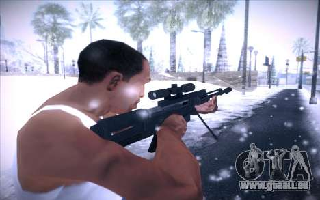 Barrett AS50 pour GTA San Andreas troisième écran