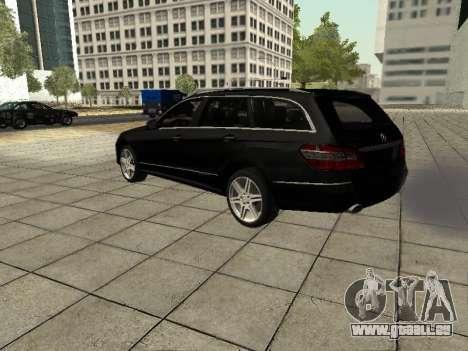 Mercedes-Benz w212 E-class Estate pour GTA San Andreas vue arrière