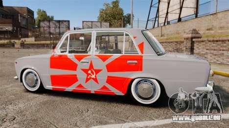 VAZ-Lada 2101 URSS pour GTA 4 est une gauche